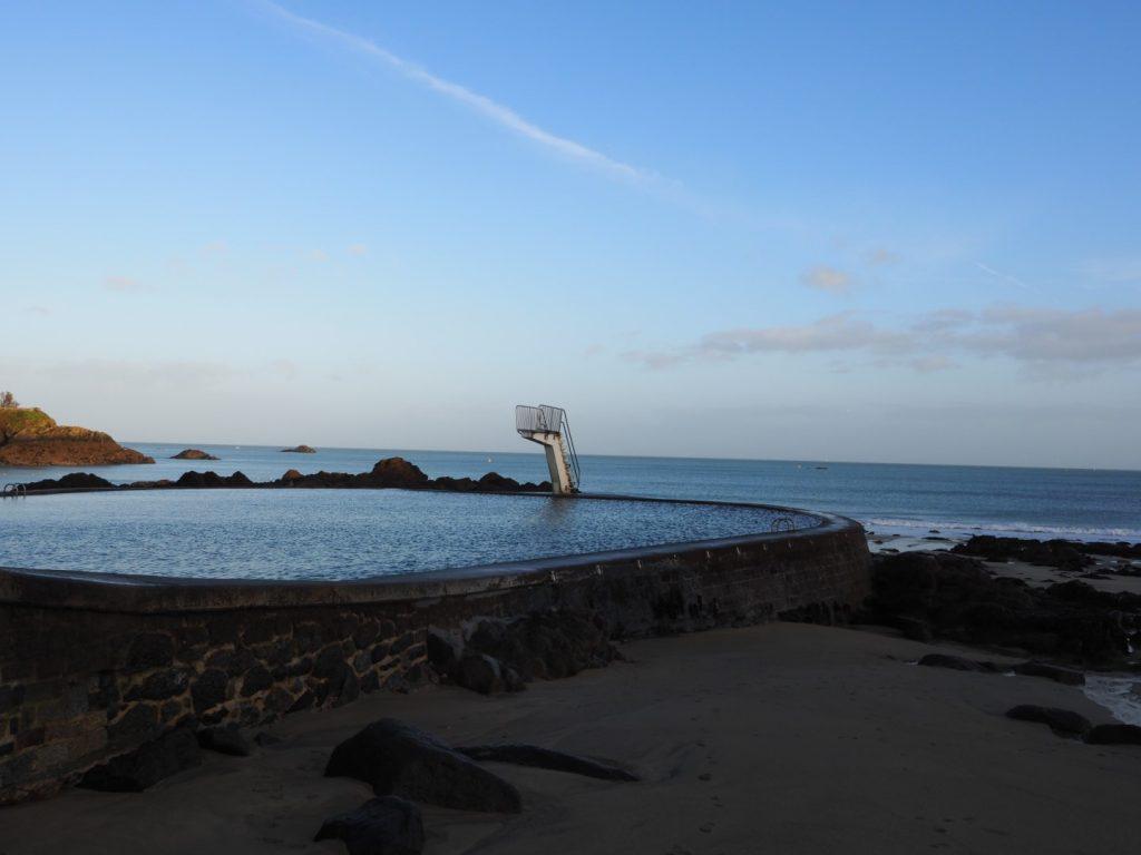 Saint-Quay-Portrieux piscine d'eau de mer Côte du Goëlo Bretagne