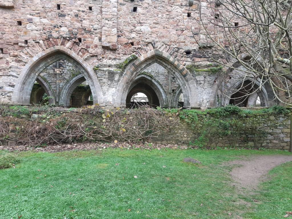 Abbaye de Beauport ruïnes abdijkerk Côte du Goëlo Bretagne