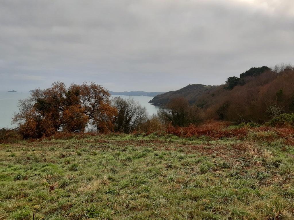 Anse de Paimpol uitzicht Côte du Goëlo Bretagne