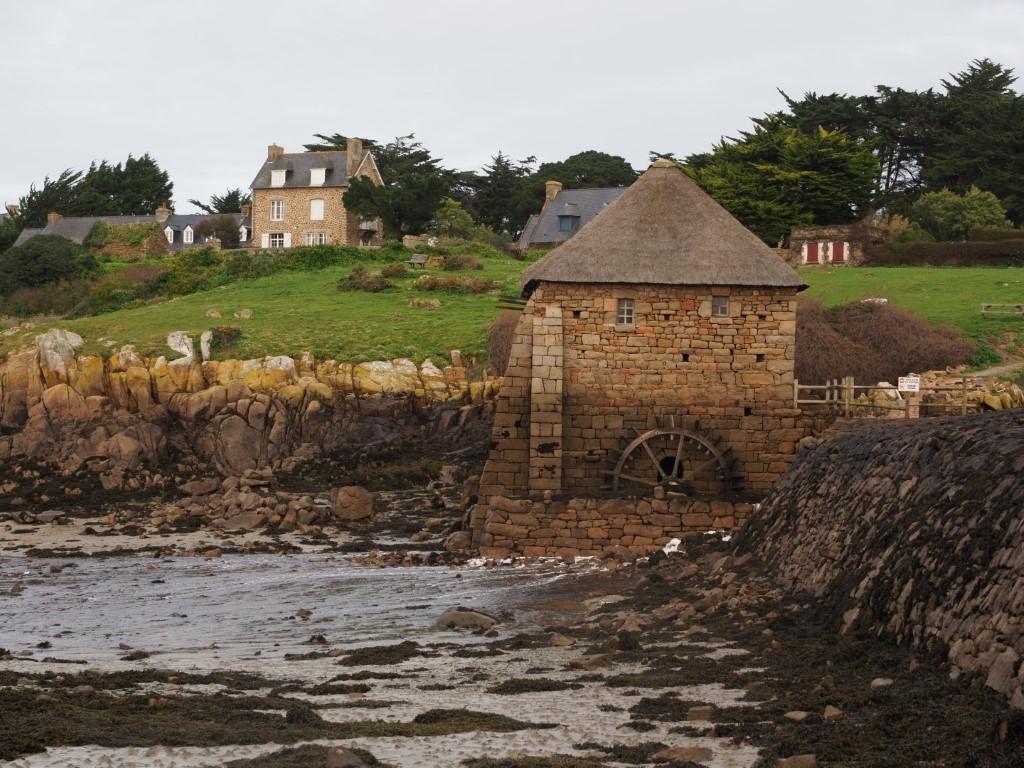 Île de Bréhat Bretagne Moulin à Marée du Birlot