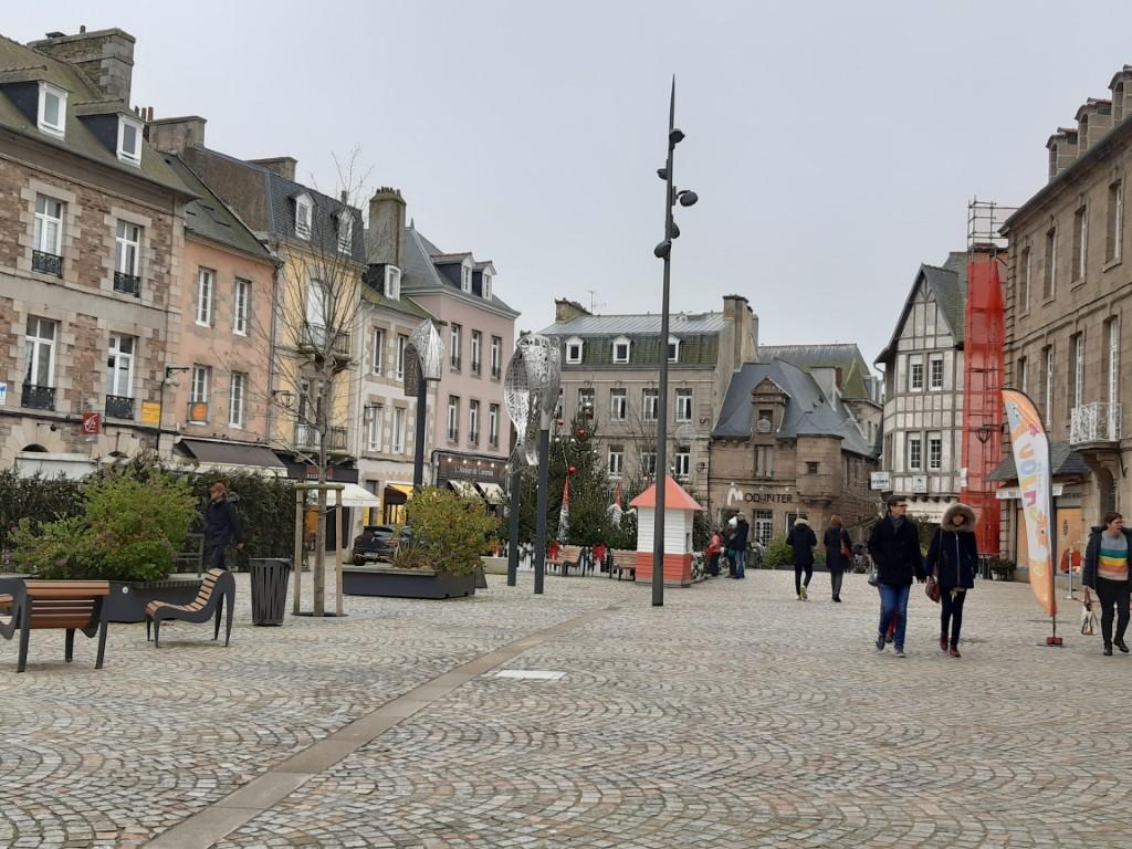 Paimpol Place du Martray Côte du Goëlo Bretagne