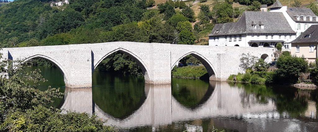 Entraygues-sur-Truyère Aveyron brug