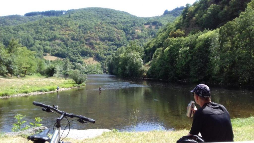 Entraygues-sur-Truyère LoT Truyère samenloop