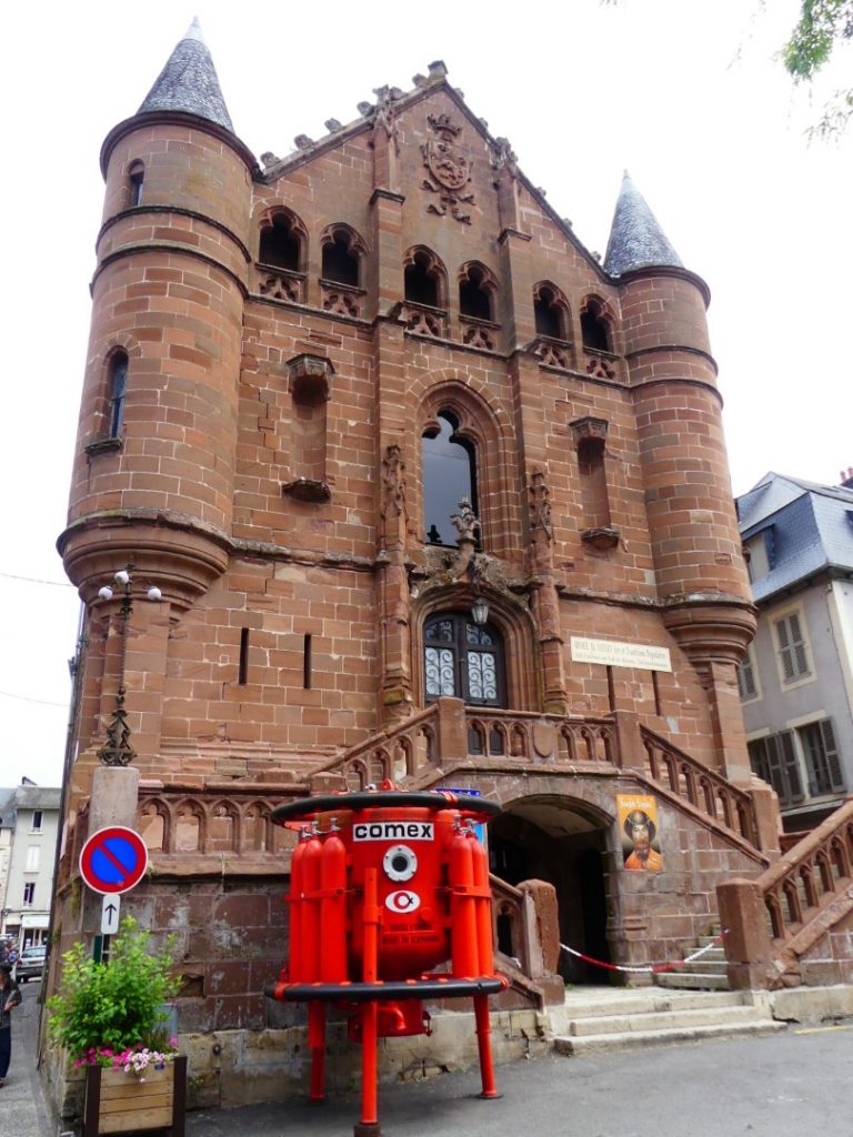 Espalion Aveyron Duikmuseum in Ancienne Église
