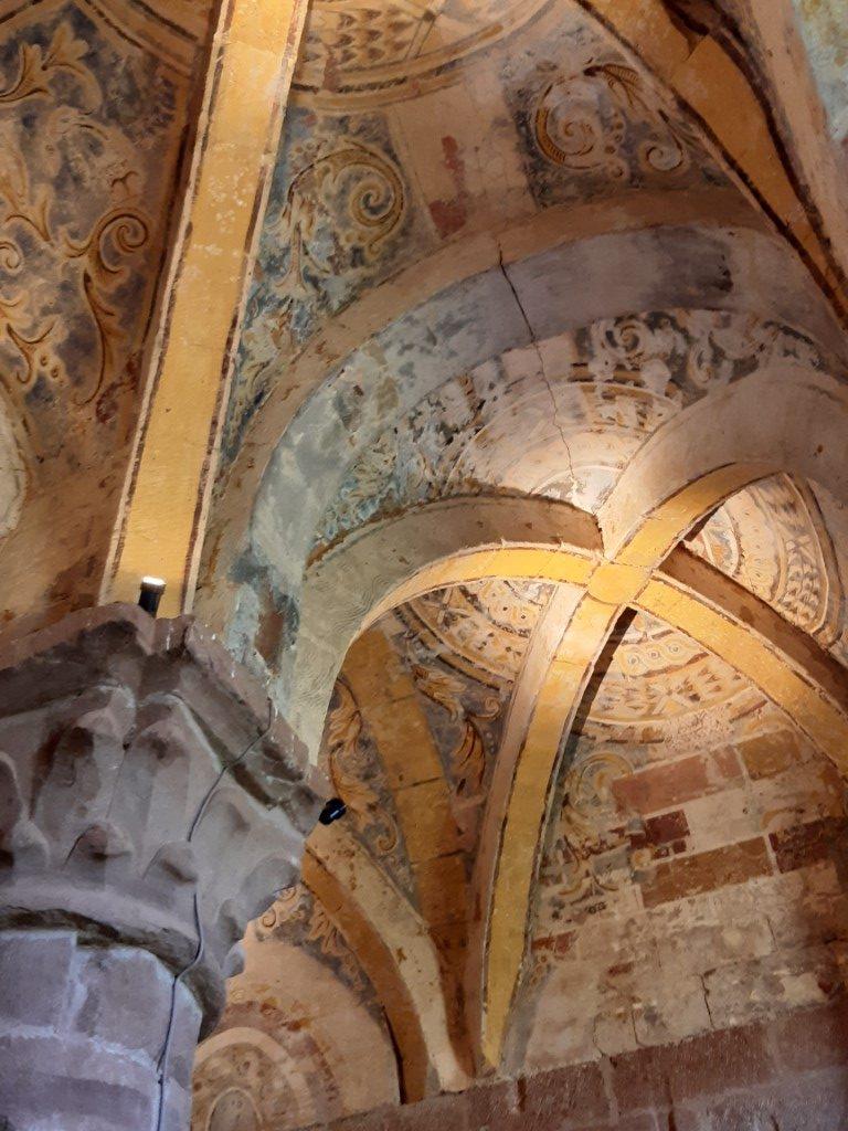 Espalion Aveyron Église de Perse gewelven
