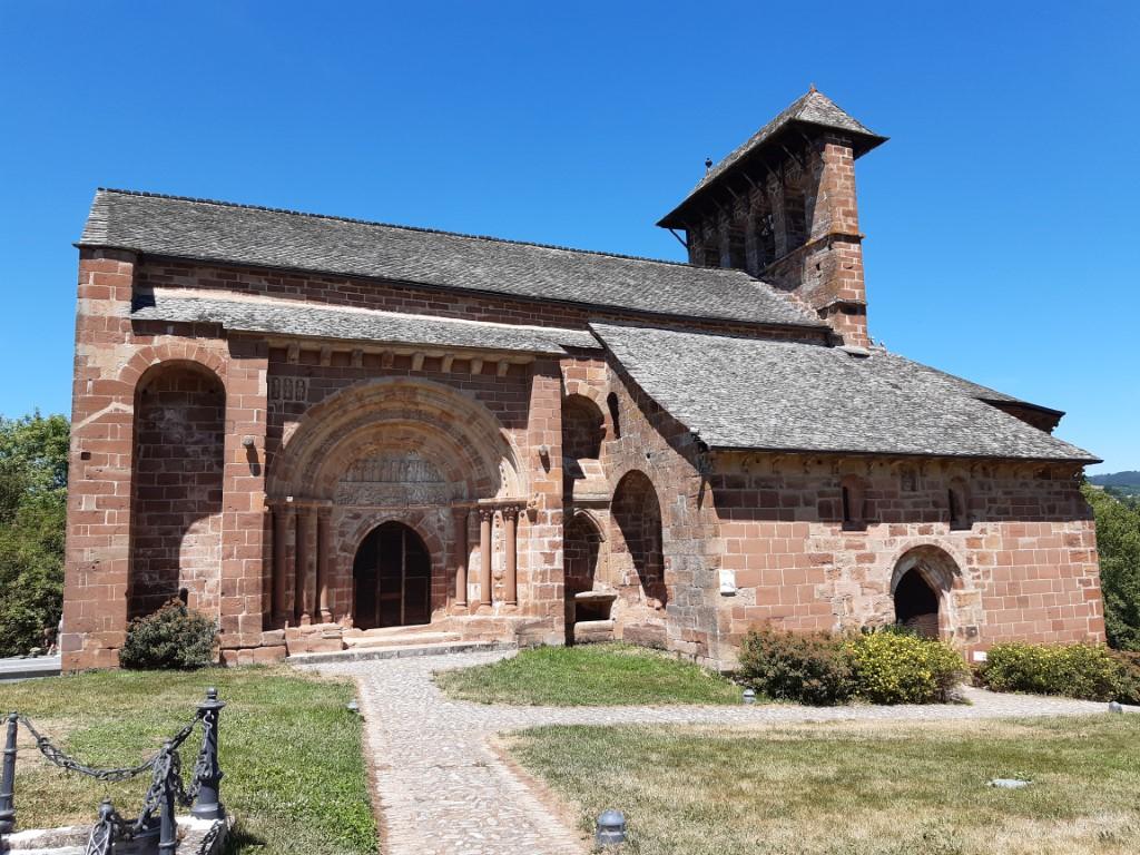 Espalion Aveyron Église de Perse zuidkant