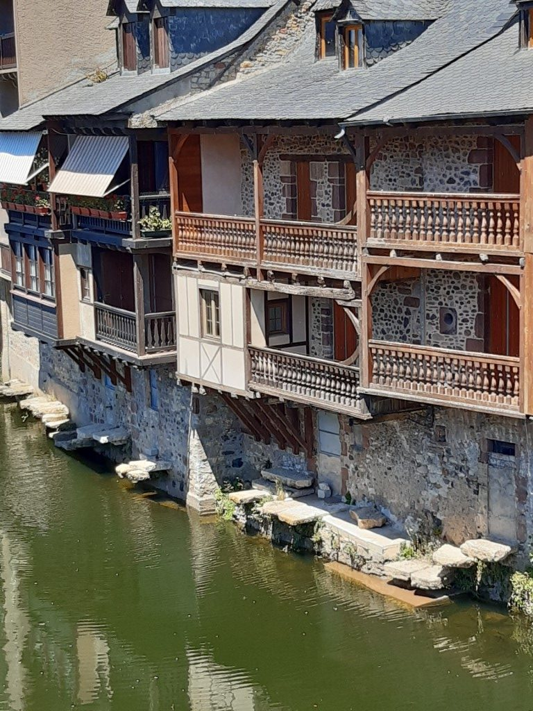 Espalion Aveyron Lot leerlooierijen
