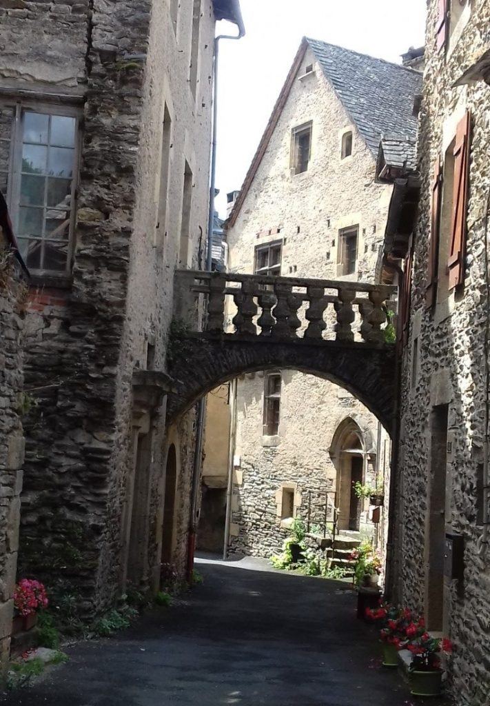 Estaing Aveyron straatje