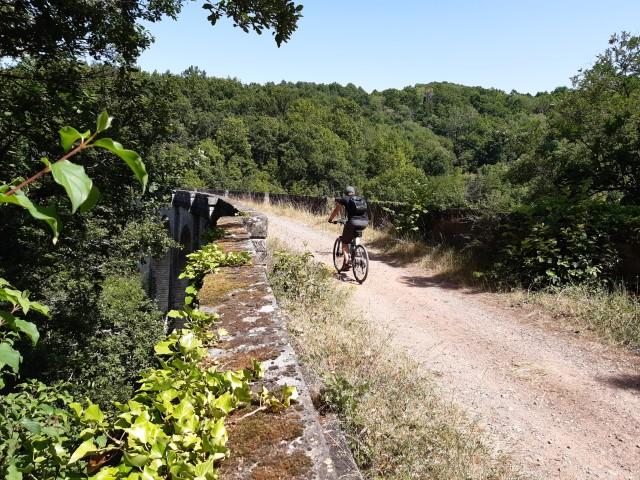 Voie Verte Aveyron Bozouls tot Espalion viaduct