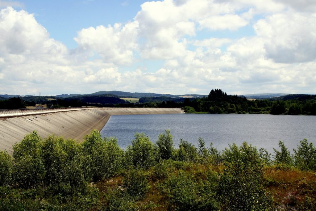 Barrage de Montézic Aubrac