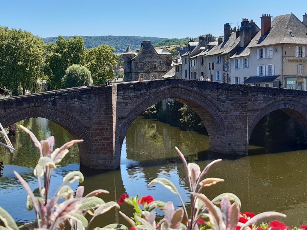Espalion Aveyron brug elfde eeuw