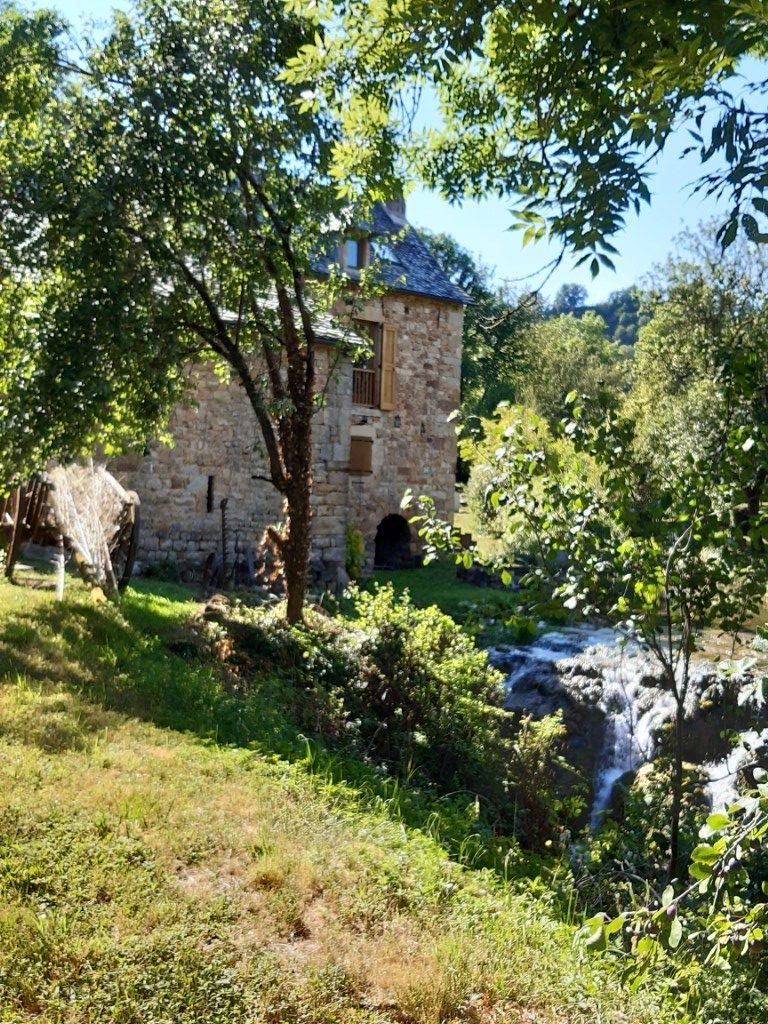 Muret-le-Château Aveyron watermolen