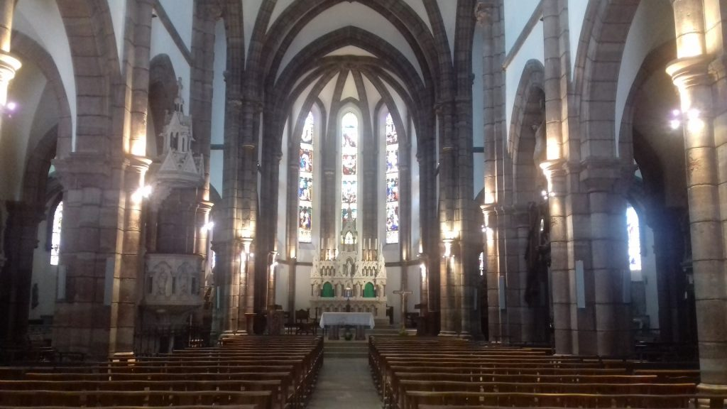 Saint-Côme-d'Olt Aveyron Église Saint-Côme interieur