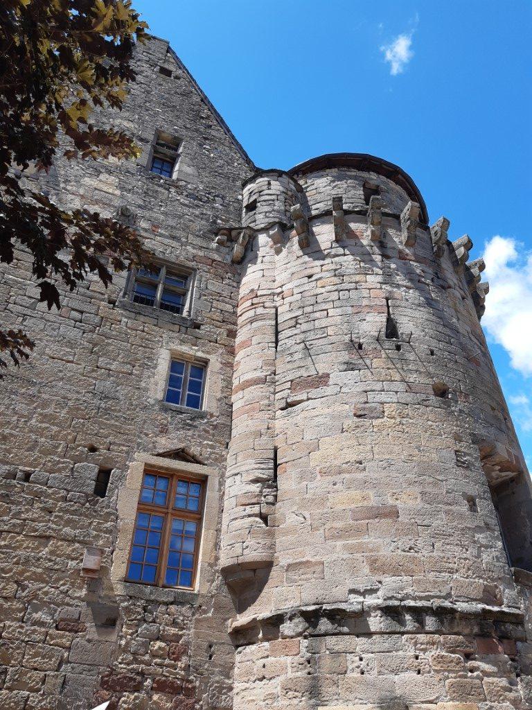 Saint-Côme-d'Olt Aveyron Manoir des Sires de Calmont
