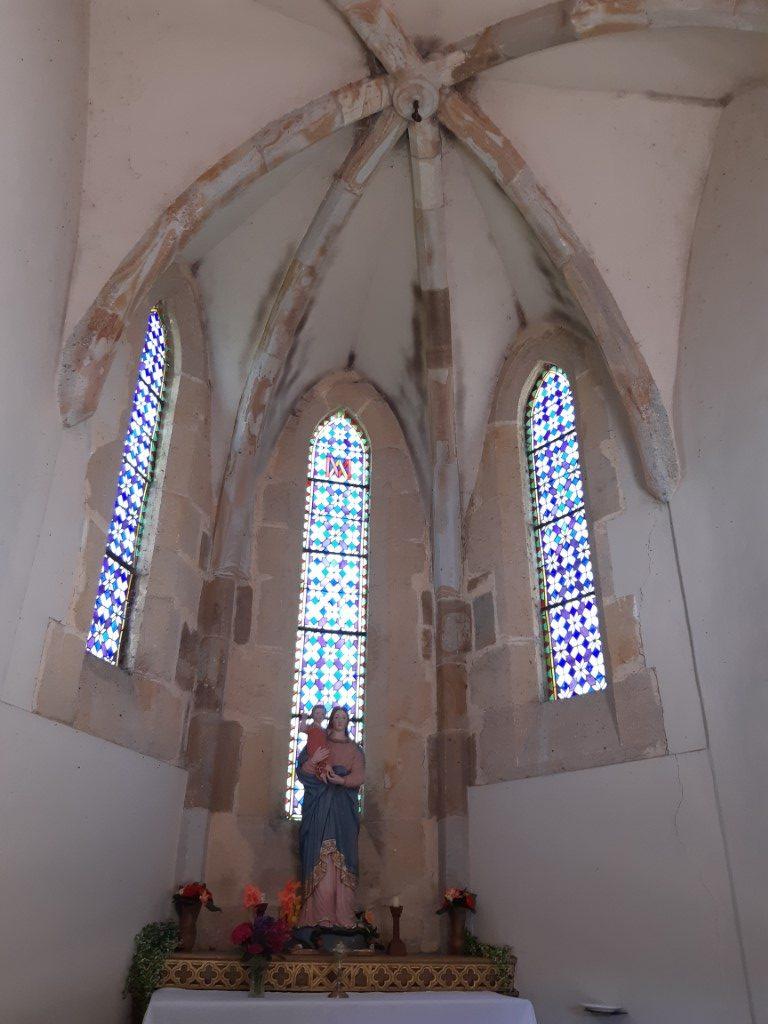 Sainte-Eulalie-d'Olt Aveyron Chapelle