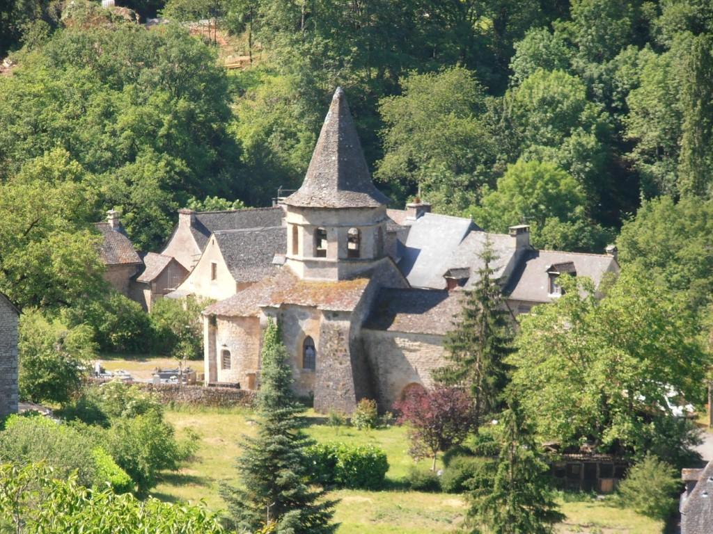 Salles-la-Source Aveyron Saint-Pierre Église Saint-Paul