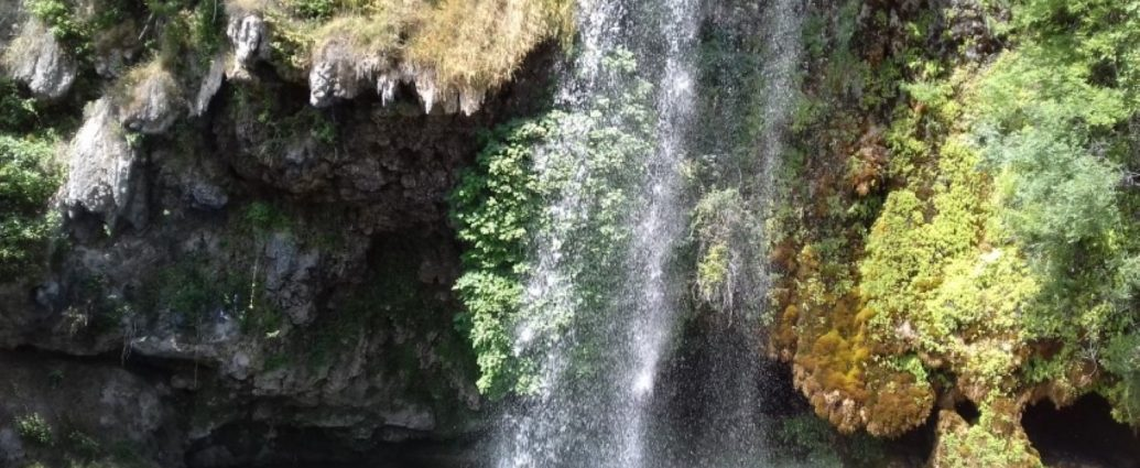Salles-la-Source Aveyron waterval