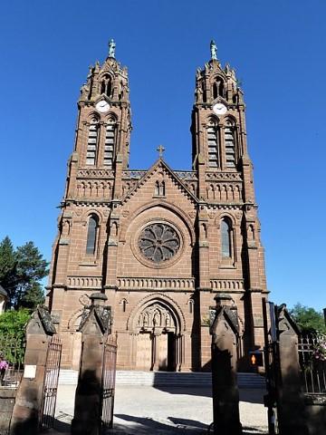 Église Saint-Baptiste in Espalion in Aveyron