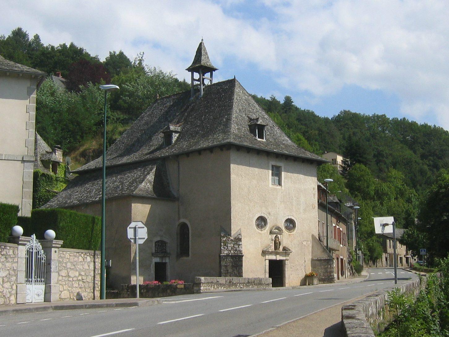 Entraygues-sur-Truyère Aveyron Chapelle du Pontet